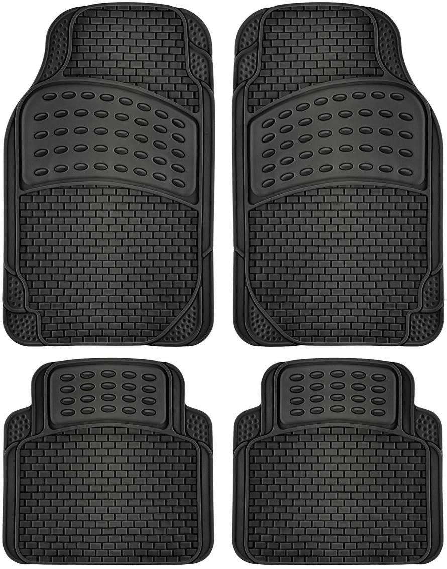 OxGord 4-Piece Car Floor Mat Set
