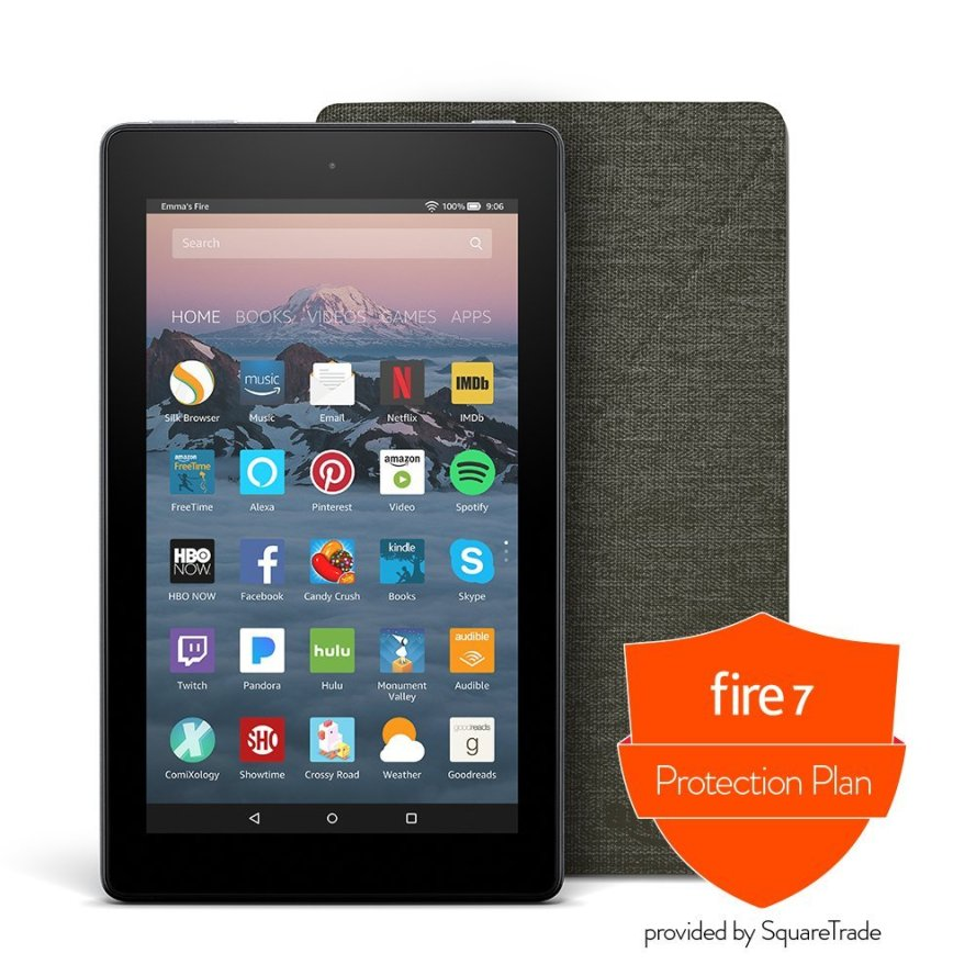 Fire 7 Protection Bundle with Fire 7 Tablet