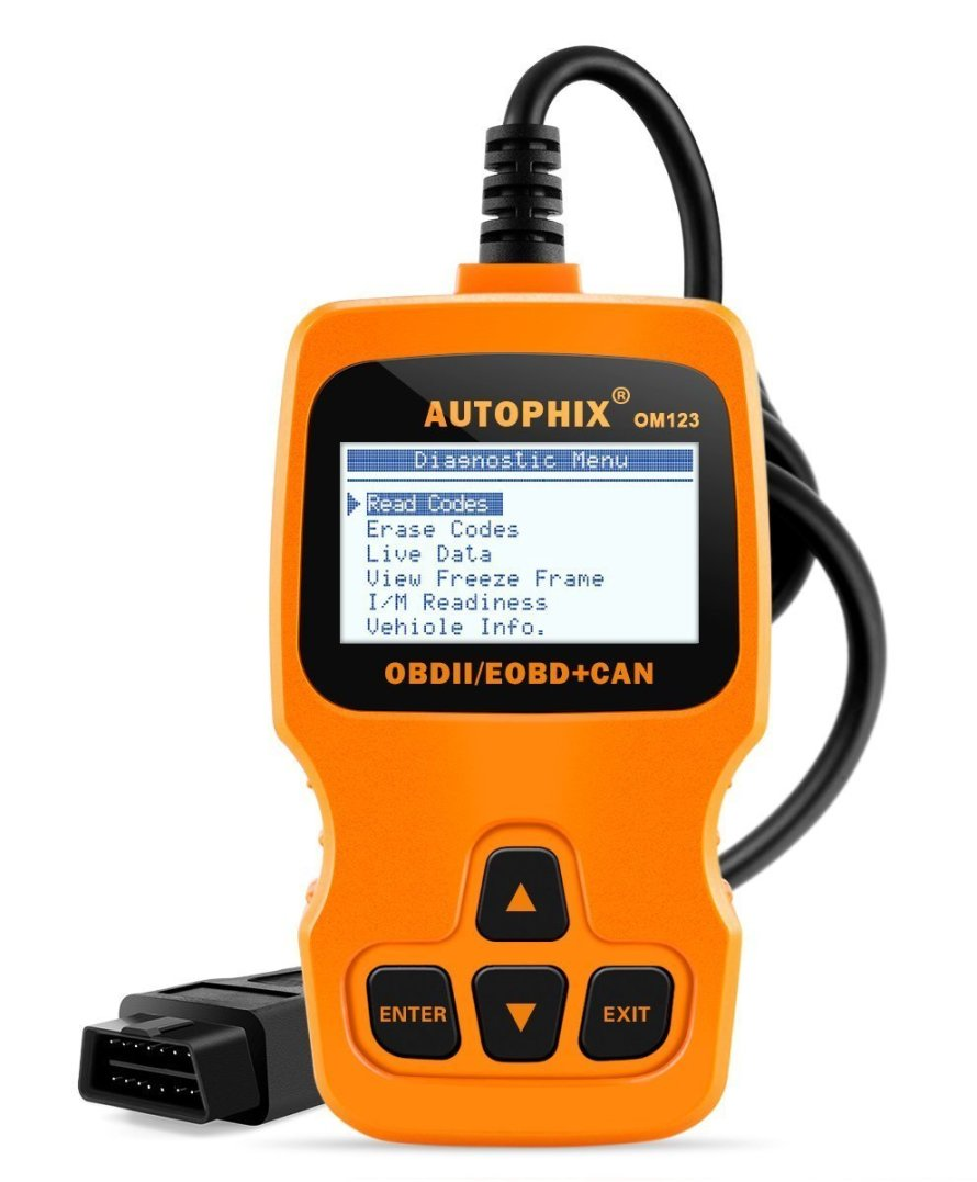 Autophix OM123 Auto Universal OBDII Check Engine Fault Code Reader