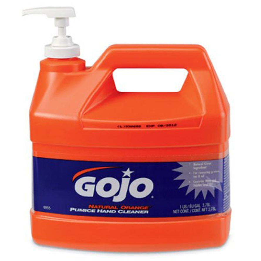 Gojo-0955-Natural-Orange-Pumice-Hand-Cleaner