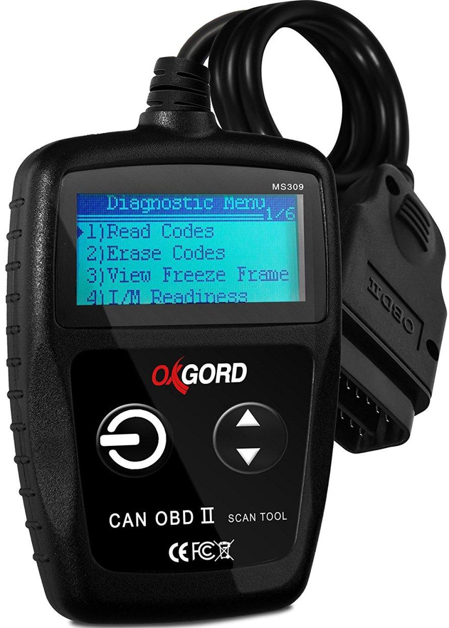 OxGord OBD2 Scanner CAN OBDII Code Reader