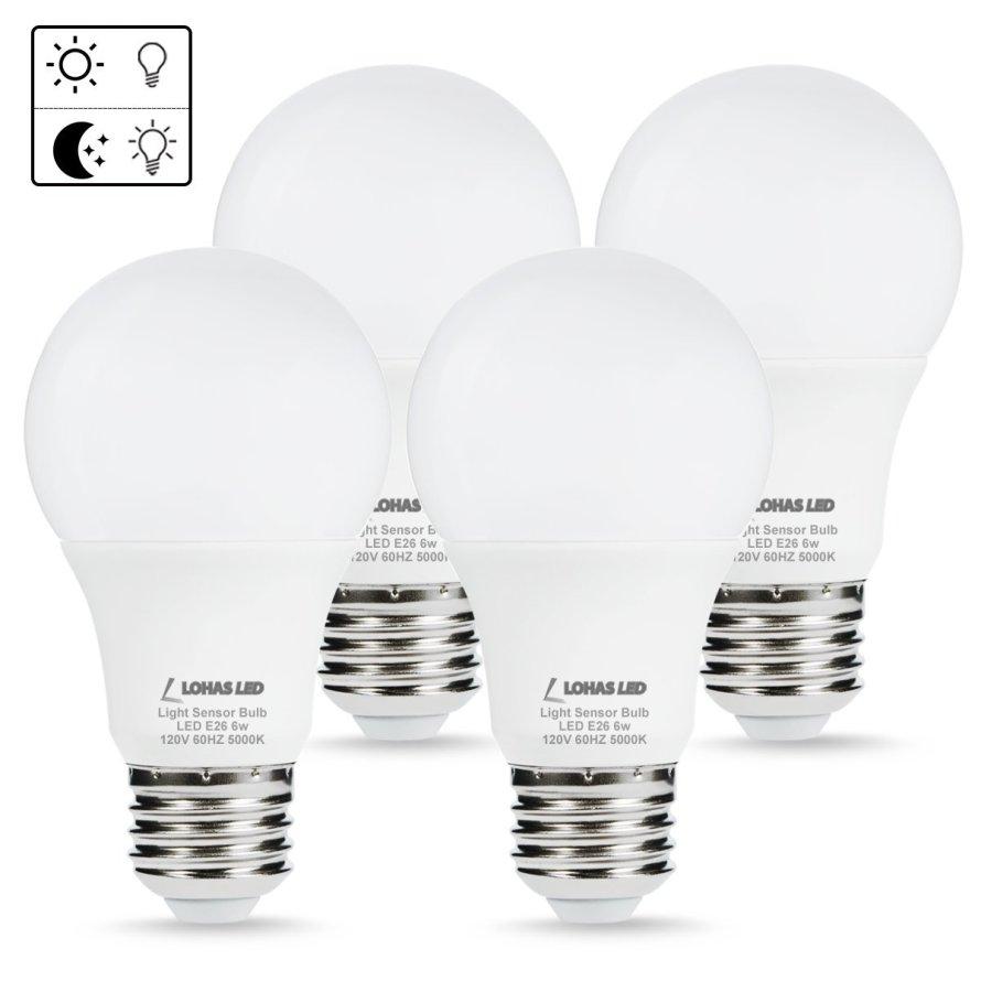 4 - Pack LOHAS Sensor Light Bulbs