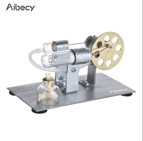 Aibecy Mini Hot Air Stirling Engine Motor Model