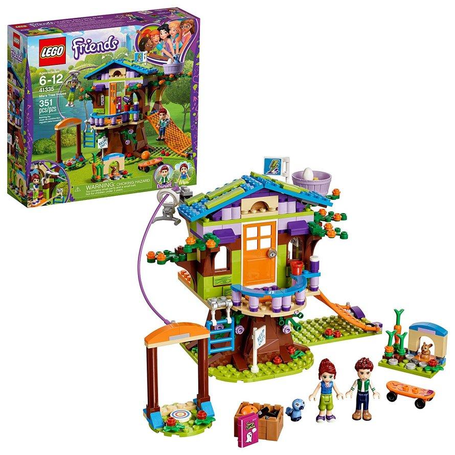 LEGO Friends Mia_s Tree House 41335 Building Set (351 Piece)