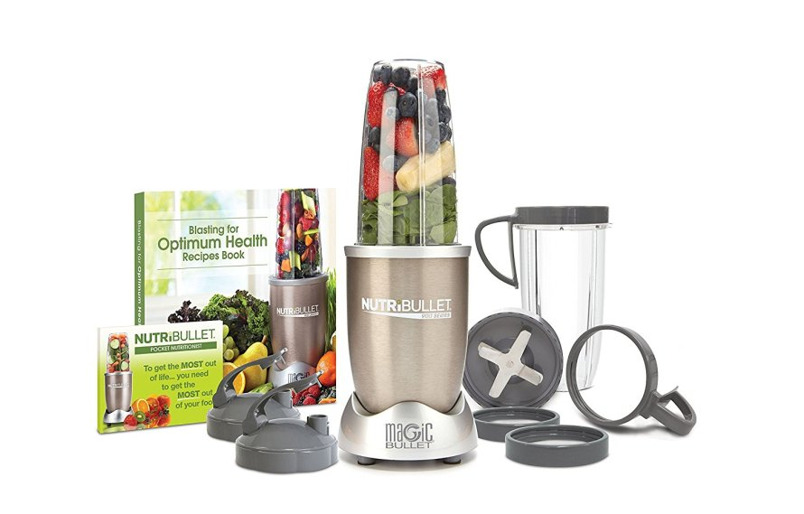NutriBullet Pro - 13-Piece High-Speed Blender Mixer System with Hardcover Recipe Book