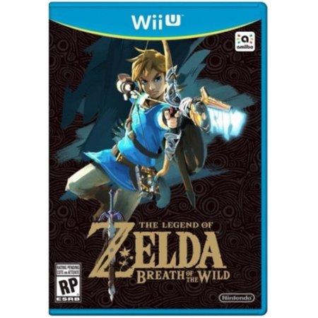 The Legend of Zelda Breath of the Wild, Nintendo, Nintendo Wii U