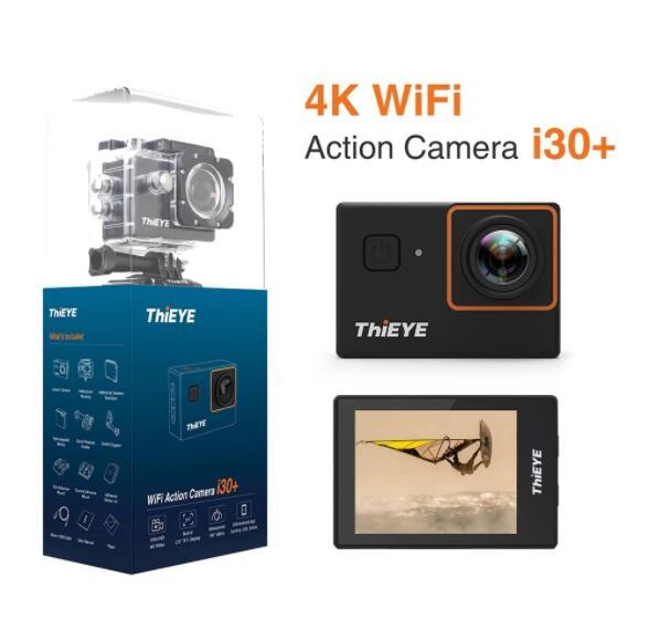 ThiEYE i30+ 4K 12MP WiFi Action Camera