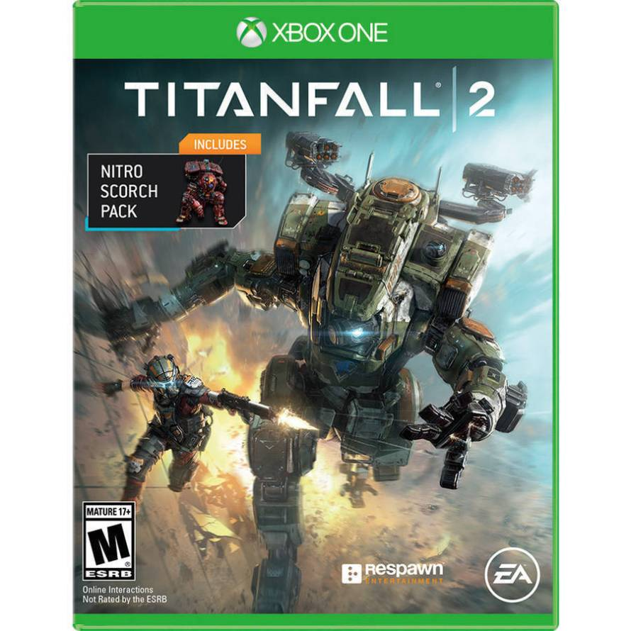 Titanfall 2 (Physical Disc) with Nitro Scorch Pack (DLC) - Xbox One