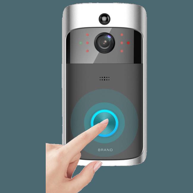 Baytek Wifi Wireless Smart Video doorbell w Audio Communication.png