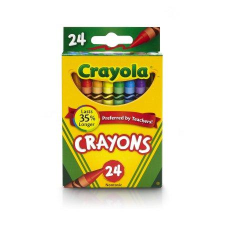 New Bluetiful Crayola Classic Crayon 24 count