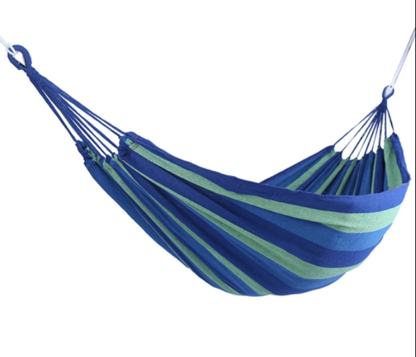 Outdoor Portable Garden Canvas Hammock.png