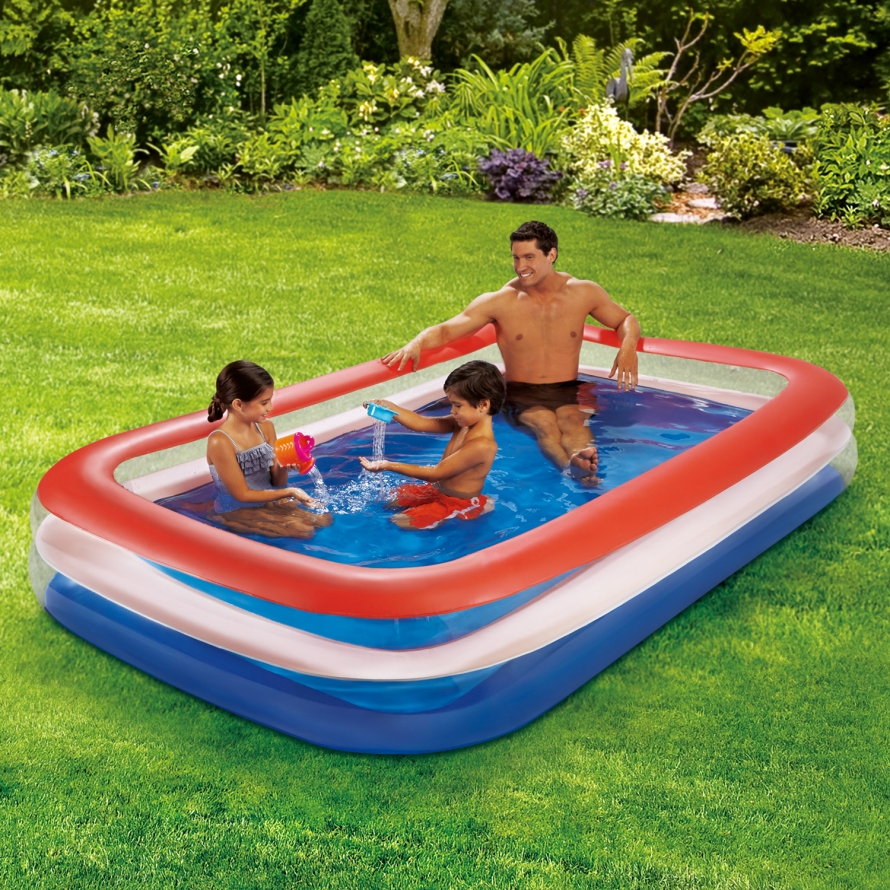 Play Day Color Transparent Family Pool