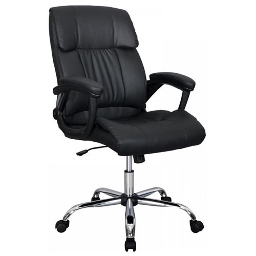 Pu Leather Ergonomic High Back Executive Best Desk Task Office Chair.jpg