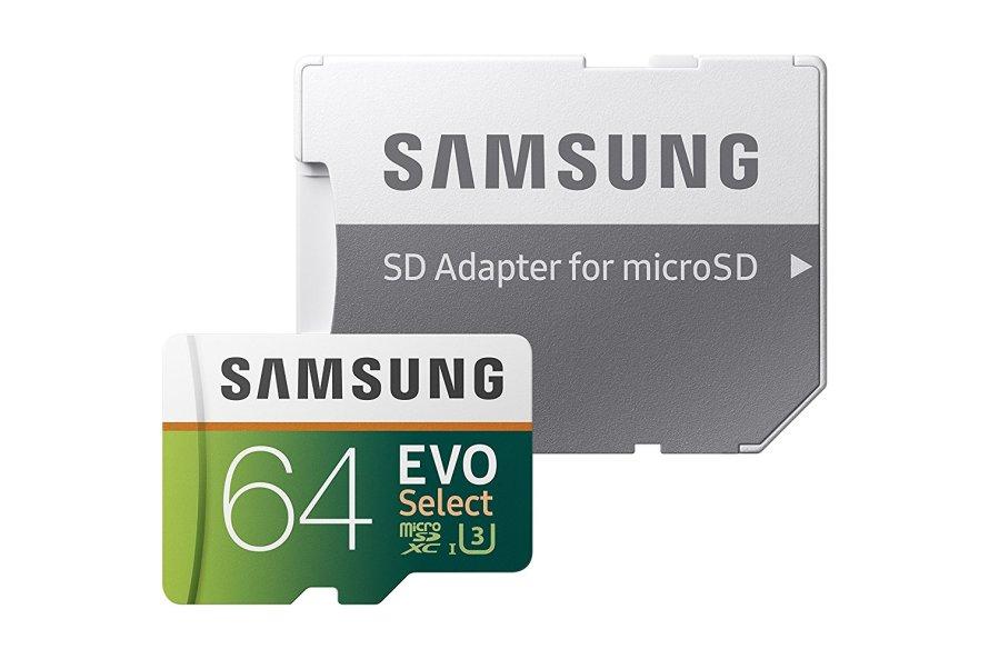 Samsung 64GB (U3) MicroSDXC EVO Select Memory Card.jpg