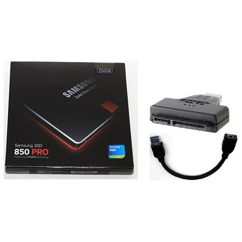 SAMSUNG SSD 850 Pro 256GB 256G Sata III 2.5 3D v-nand Internal Solid State Drive USB 3.0 Adapter and cable.jpg