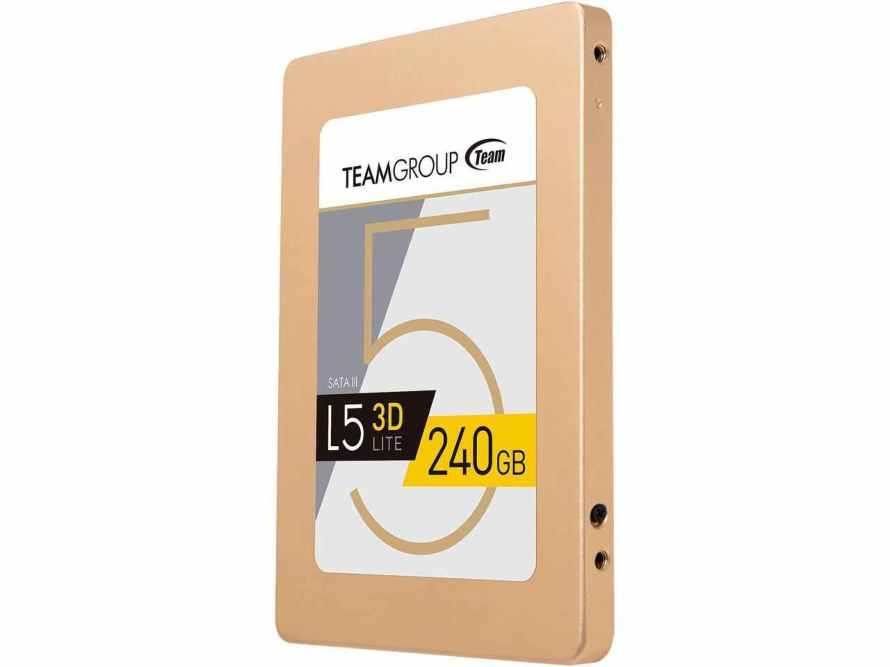 Team Group L5 LITE 3D 2.5 240GB SATA III 3D NAND Internal Solid State Drive