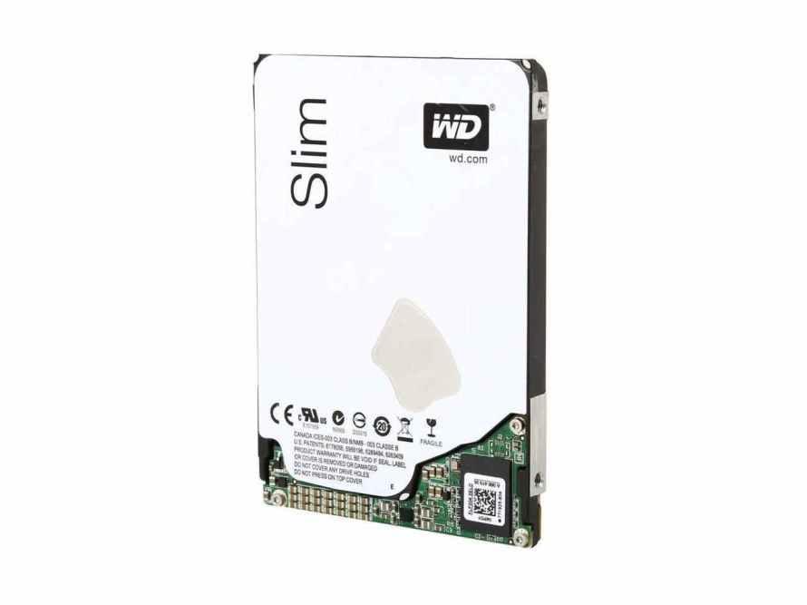 Western Digital WD10S21X 1TB hard drive