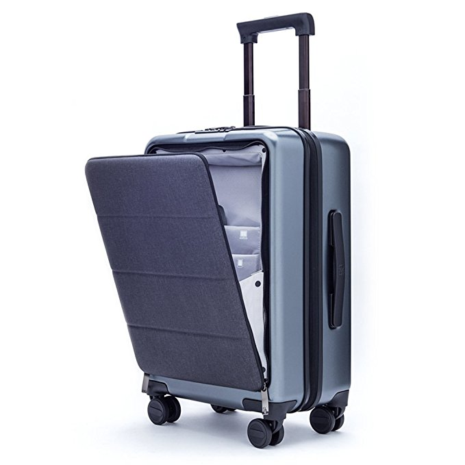 Xiaomi Carry On Luggage 20 Front Pocket.jpg