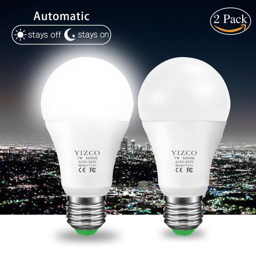 YIZCO Dusk to Dawn Led Outdoor Lighting Sensor Bulbs.jpg