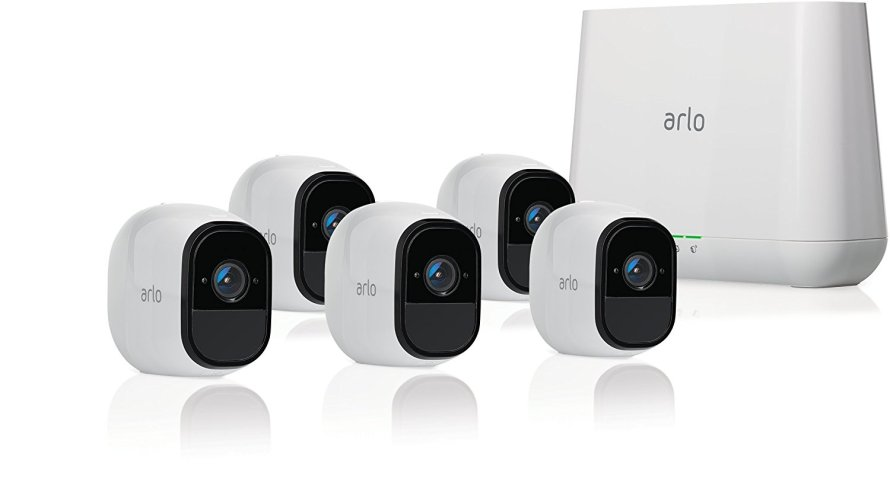 Arlo Pro Security System with Siren - 5 Rechargeable Wire-Free HD Cameras.jpg