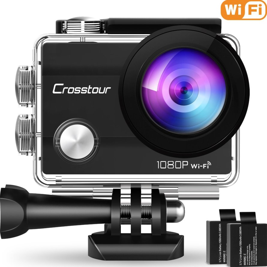 Crosstour Action Camera Underwater Cam WiFi 1080P Full HD.jpg