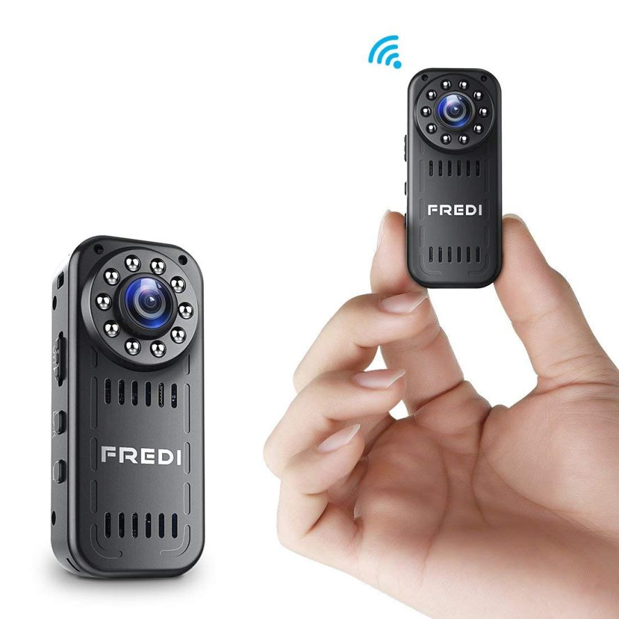 FREDI hidden camera 1080p mini wifi camera