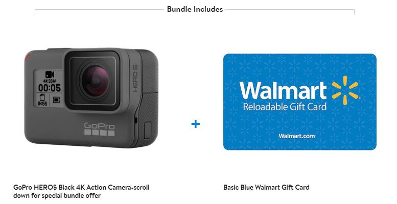 GoPro Hero5 Black 4k Action Camera & FREE $30 Walmart Gift Card.jpg