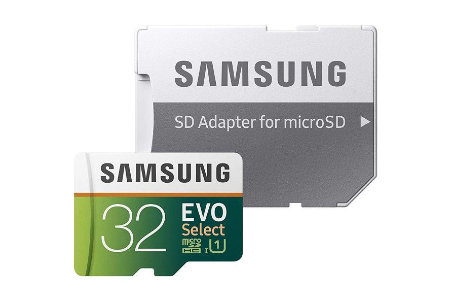Samsung 32GB 95MB s (U1) MicroSD EVO Select Memory Card.jpg