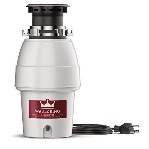 Waste King Legend Series 1 2 HP Garbage Disposal with Power Cord.jpg
