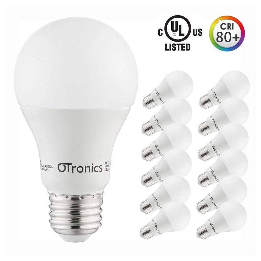 12 Pack Otronics 9W LED Light Bulb A19,Non-Dimmable LED Bulbs.jpg