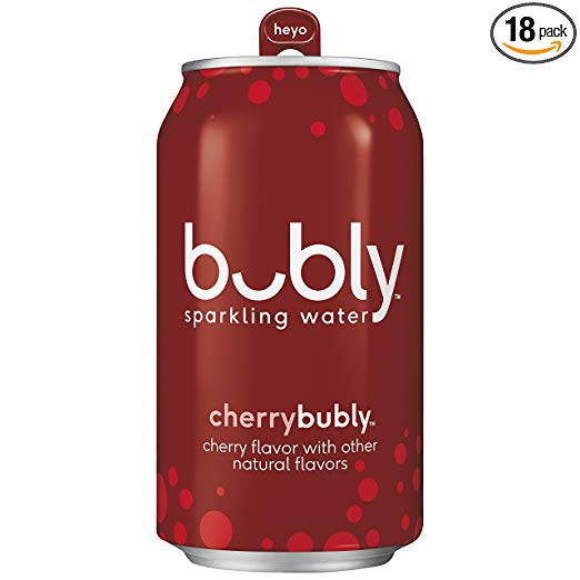 18 Pack bubly Sparkling Water, Cherry, 12 ounce Cans.jpg
