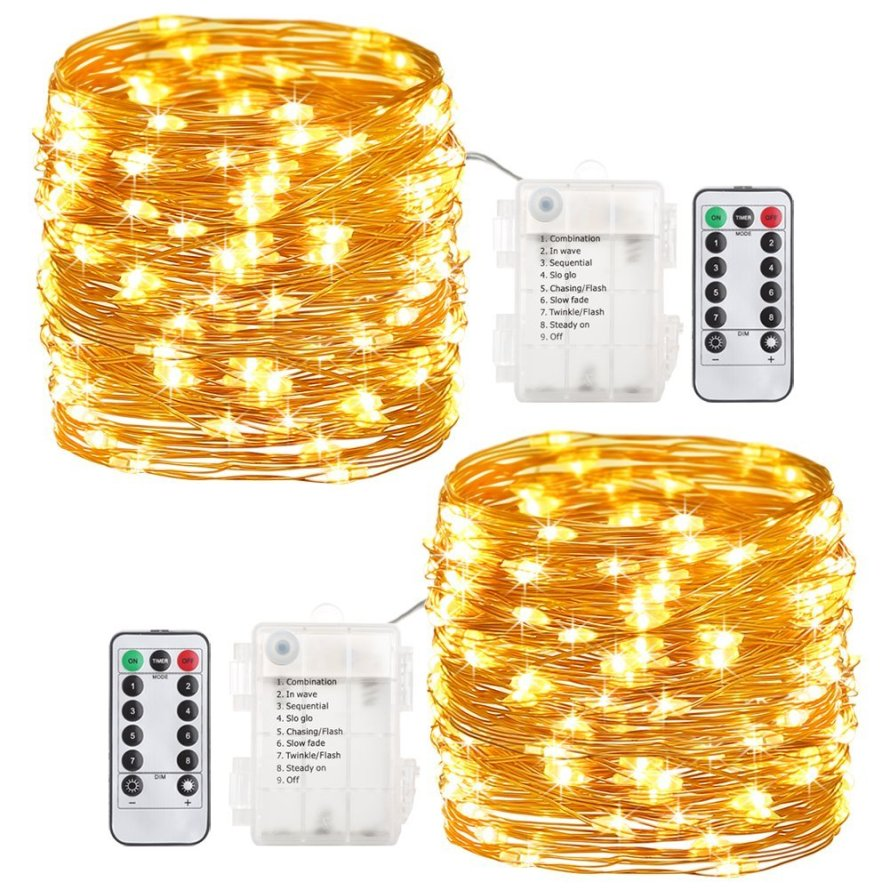60 LED GDEALER 2 Pack Fairy Lights Fairy String Lights.jpg