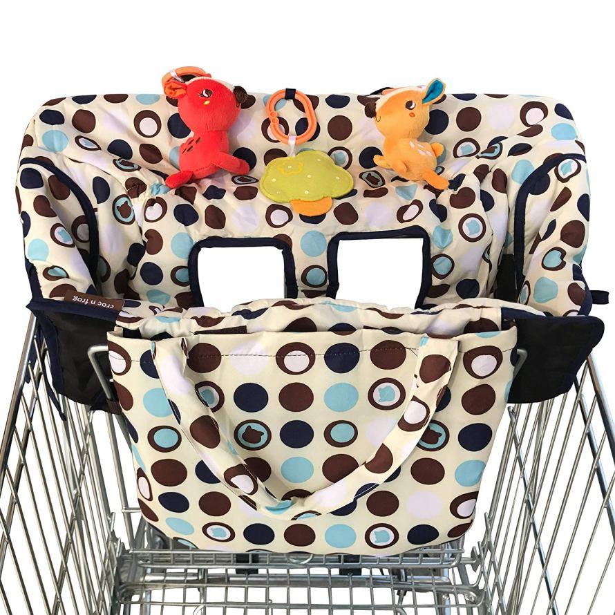 Crocnfrog 2-in-1 Shopping Cart Cover.jpg
