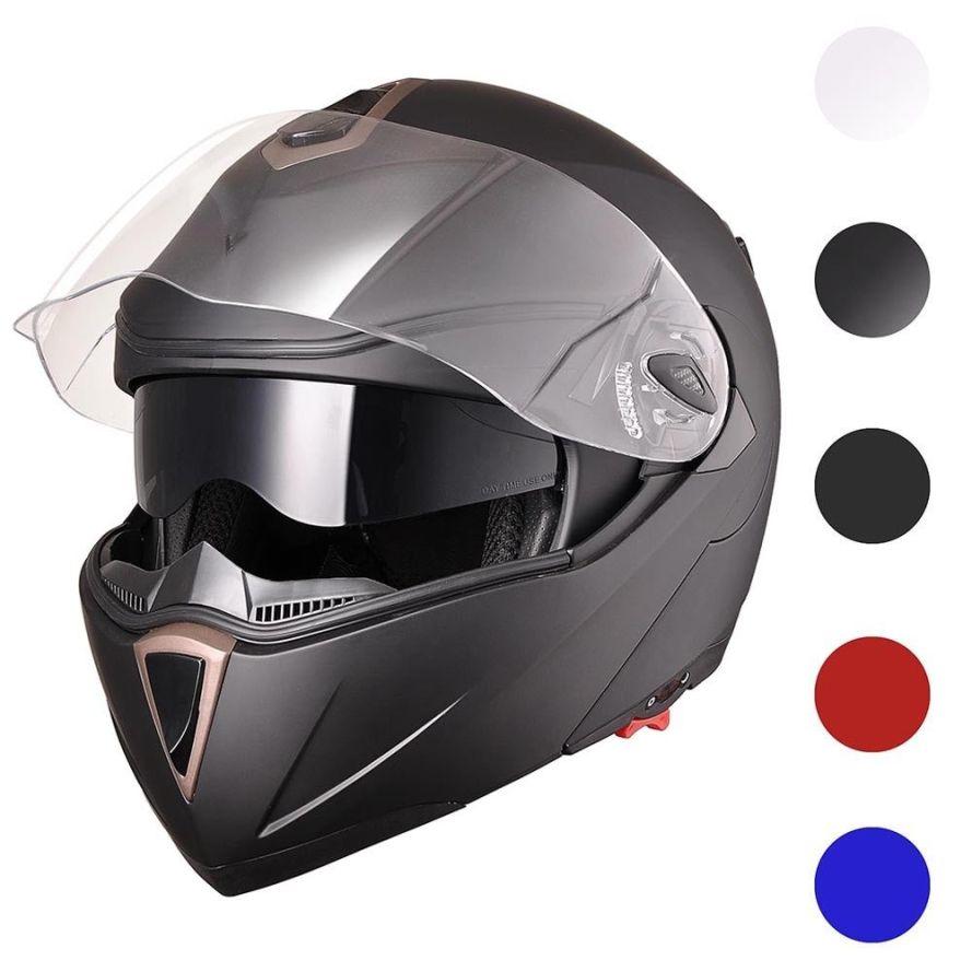 DOT Flip up Modular Full Face Motorcycle Helmet.jpg