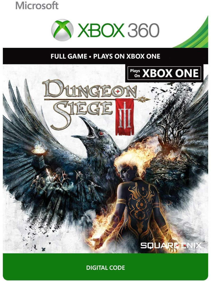Dungeon Siege III - Xbox 360  Xbox One Digital Code.jpg