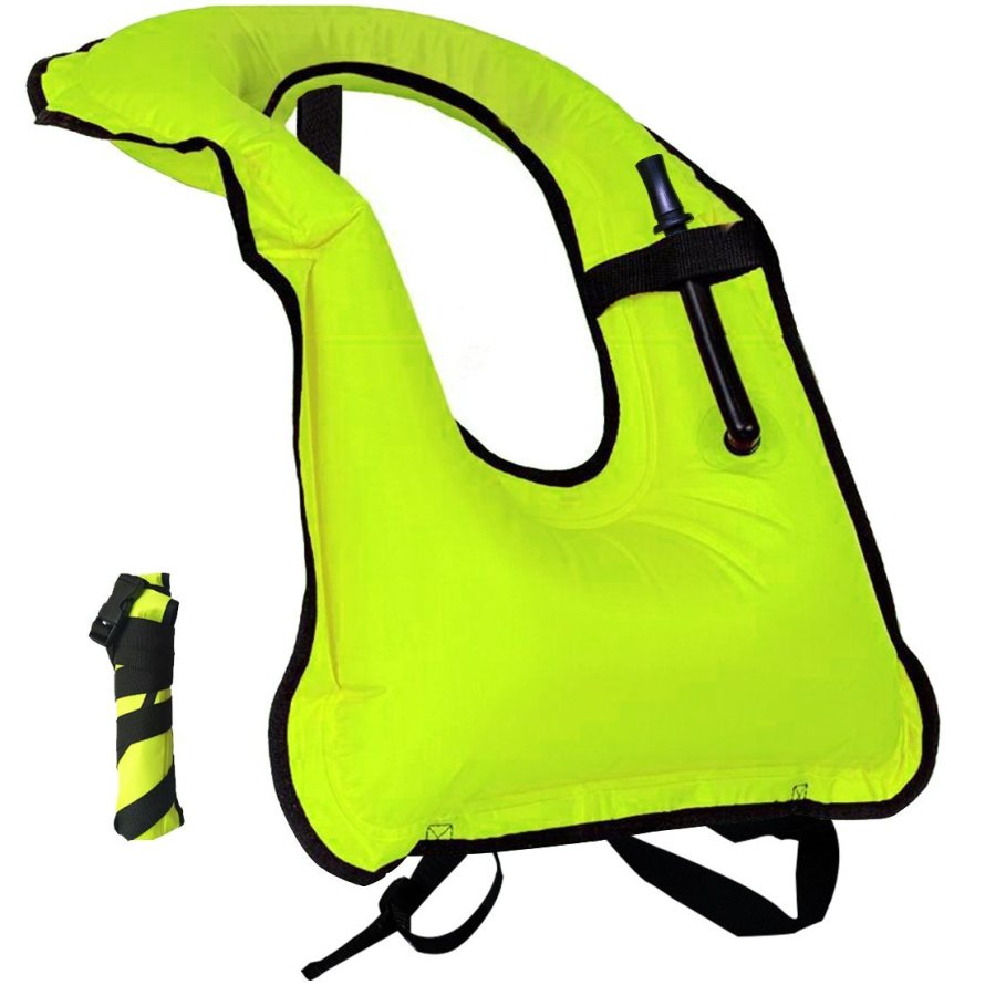 Lesberg Inflatable Snorkel Vest Adult Snorkeling Jackets.jpg