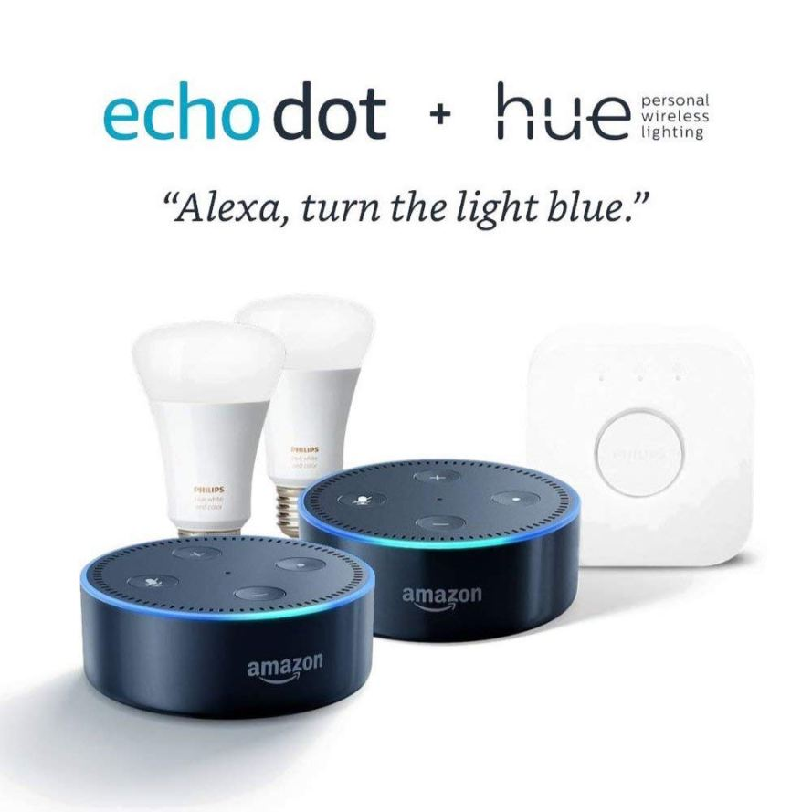 Philips Hue White and Color Starter Kit + Echo Dot 2 Pack.jpg