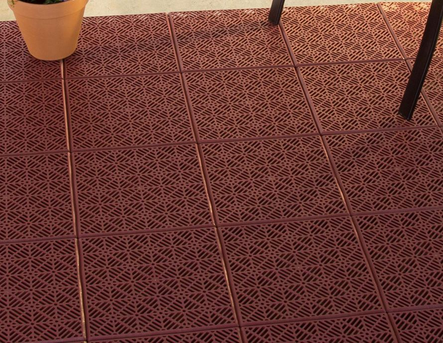 Pure Garden Interlocking Patio Deck Or Garage Floor Tiles 13 With