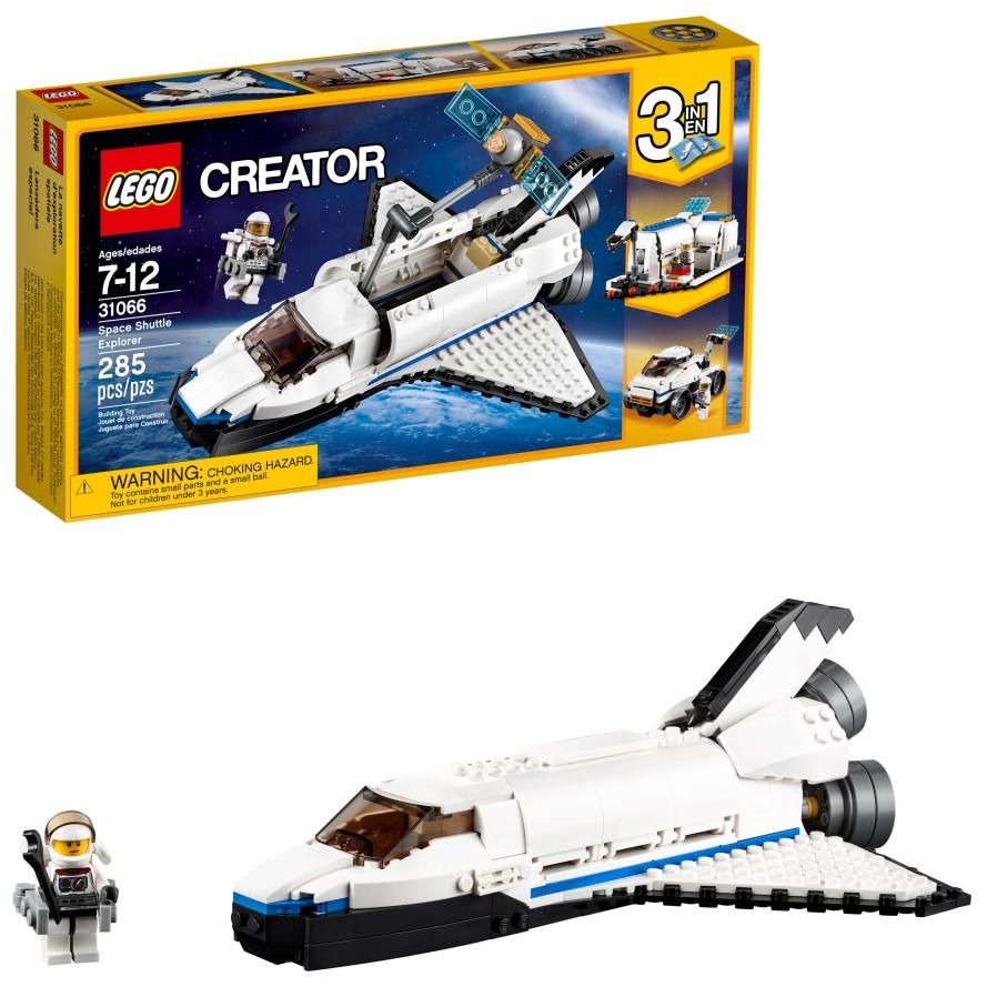 285 Pieces LEGO Creator Space Shuttle Explorer 31066 Building Kit.jpeg