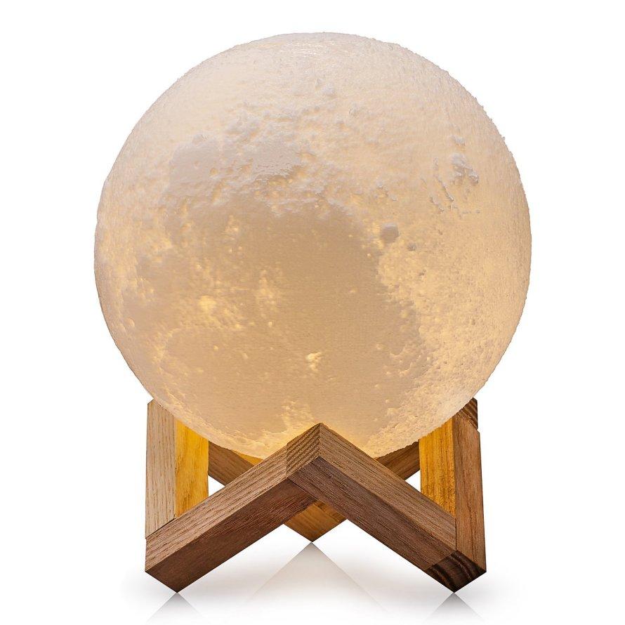 CPLA Lighting Night Light LED 3D Printing Moon Lamp.jpg