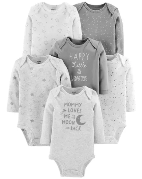 DOORBUSTER 6-Pack Neutral Original Bodysuits @Carters.png