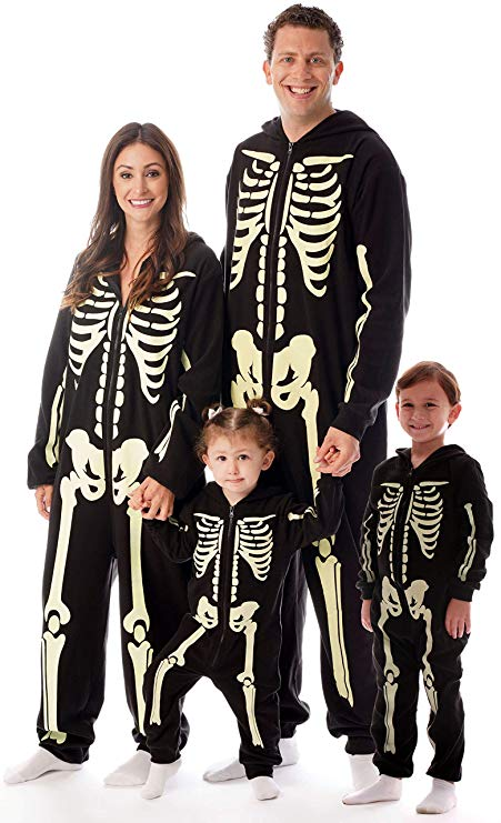 #followme Glow in The Dark Skeleton Jumpsuit Pajamas Family Sleepwear.jpg