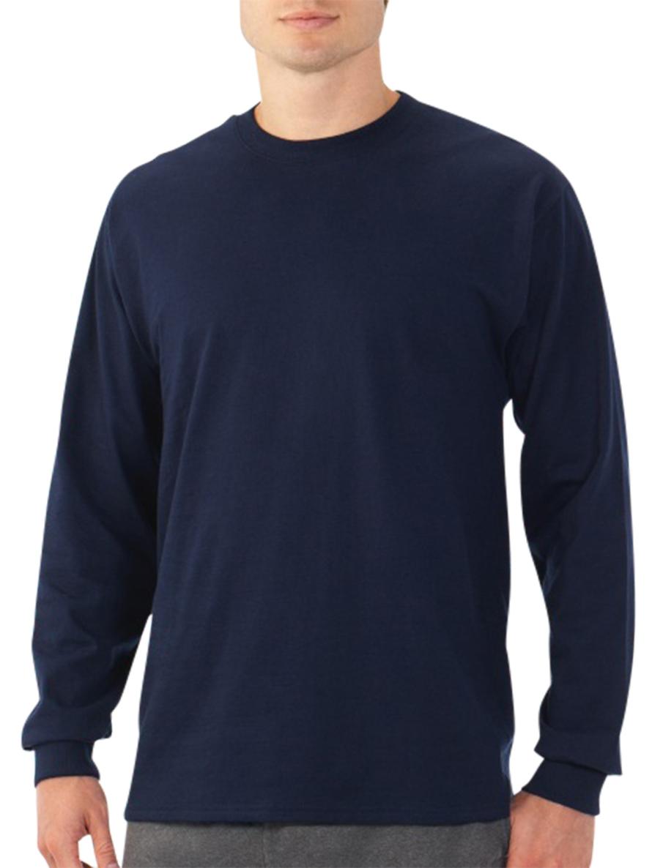 Fruit of the Loom Platinum Eversoft Men's Long Sleeve Crew T Shirt.jpeg
