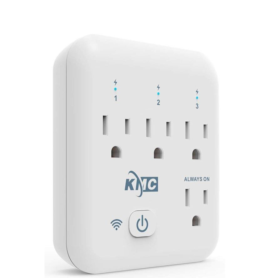 KMC 4 Outlet WiFi Smart Plug Energy Monitoring Smart Outlet.jpg