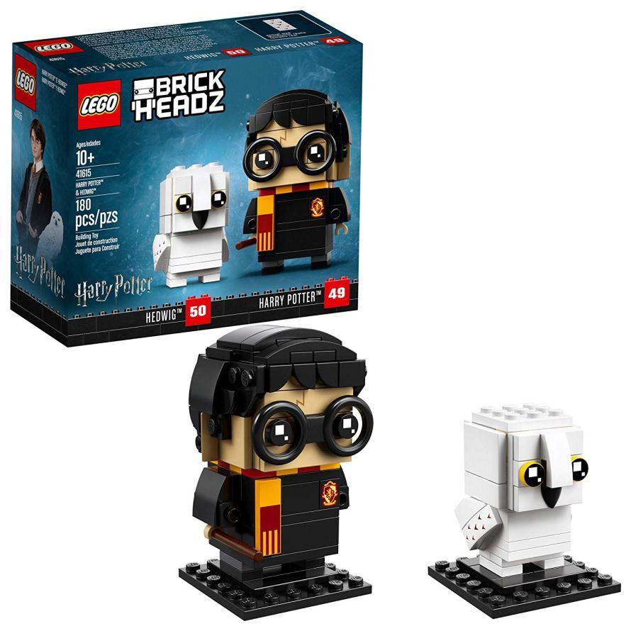 LEGO BrickHeadz 180 Piece Harry Potter & Hedwig Building Kit.jpg