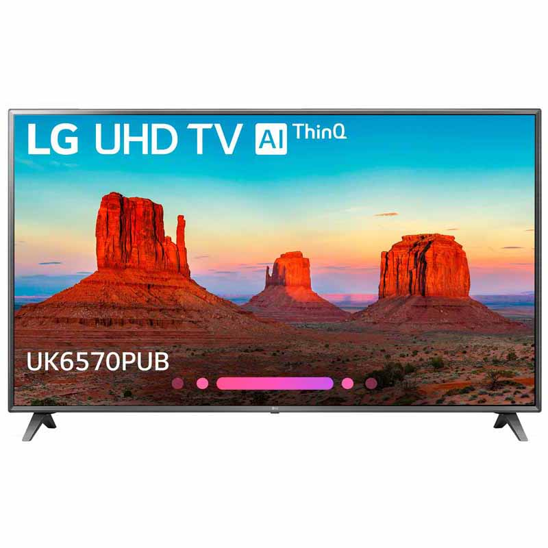 LG 70 Class UK6570PUB Series 4K HDR Smart LED AI UHD TV