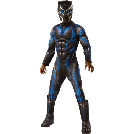 Marvel Black Panther Movie Boys Deluxe Black Panther Battle Suit Costume.jpeg