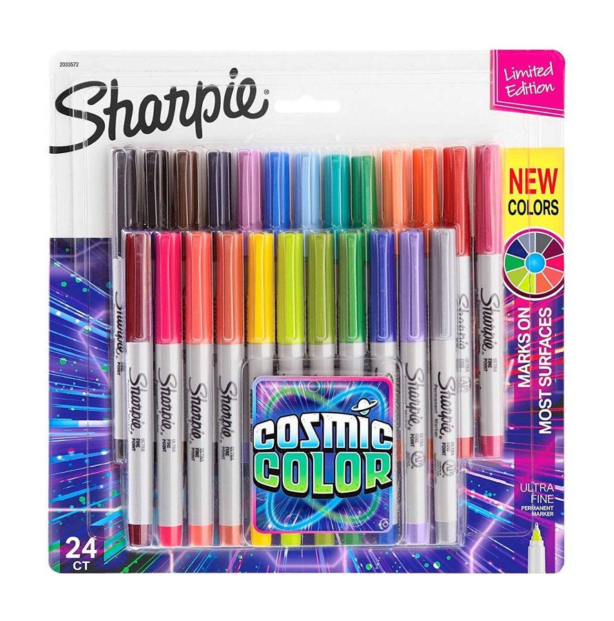 Sharpie Permanent Markers, Limited Edition, 24 Count.jpg