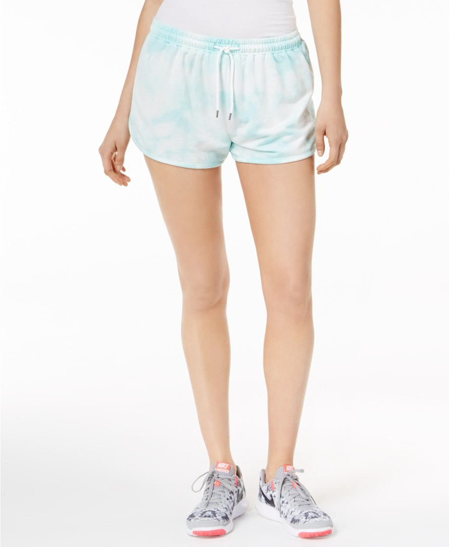 sica Simpson TheWarmUp Juniors' Tie-Dye Drawstring Shorts.jpg