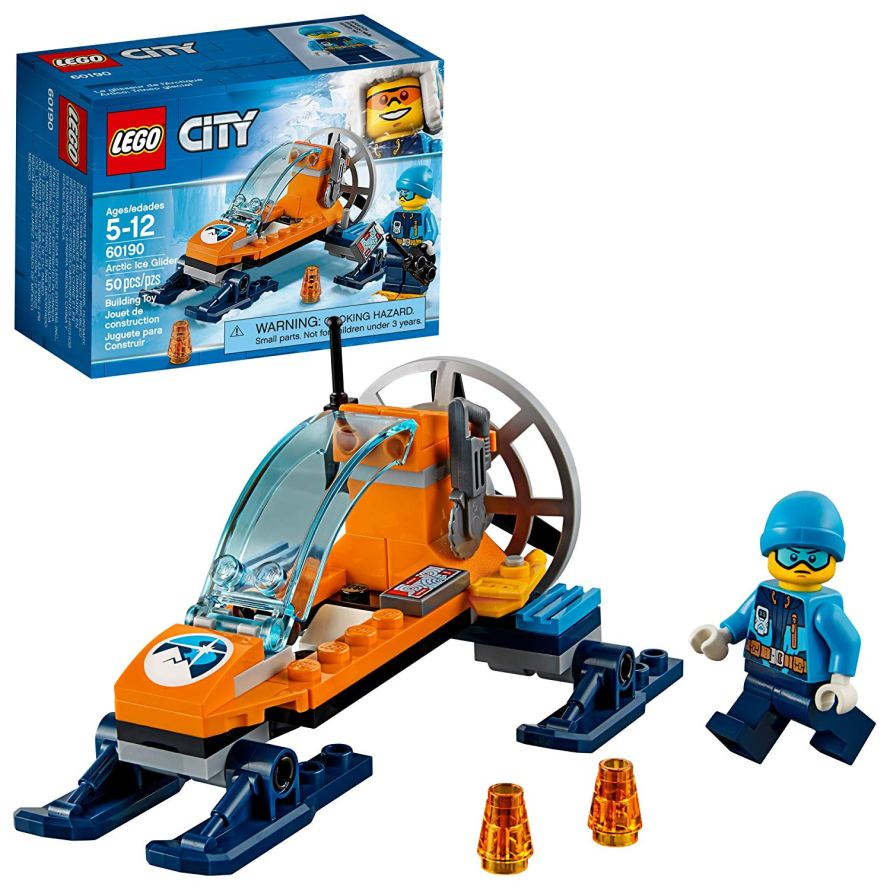 LEGO City Arctic Ice Glider 60190 Building Kit (50 Piece).jpg